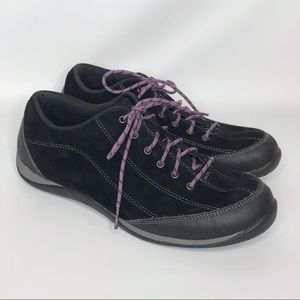 L.L. Bean BeanSport Black Suede Leather Sneakers